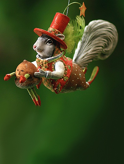 Krinkles by Patience Brewster - Mr. Squirrel Ornament