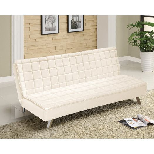 FREE SHIPPING! Shop AllModern for Idea Nuova Urban Shop Memory Foam Faux Leather Futon - Great Deals on all products with the best selection to choose from!