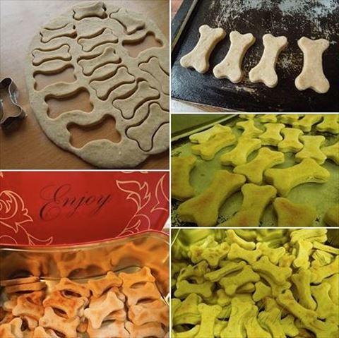 Obrázek z Recept - Sušenky pro pejsky - domácí