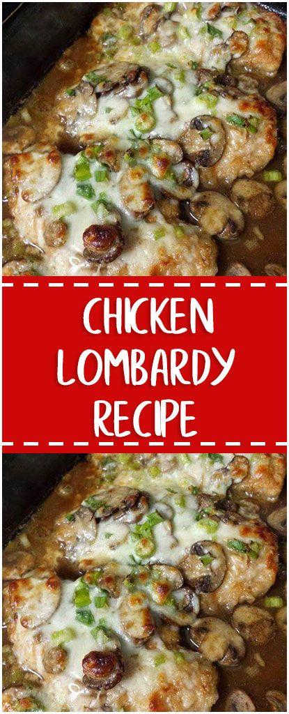 Chicken Lombardy Recipes In 2018 Pinterest Chicken Chicken