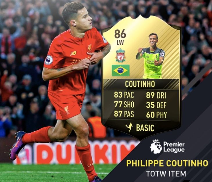 Coutinho Vs Ozil after LFC upgrade on FIFA 17
