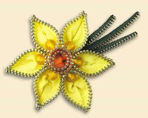 Broche de fieltro y cremalleras Narciso: Amazon.es: Hogar