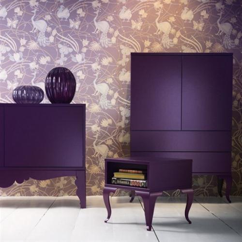 Hmmm, purple furniture?