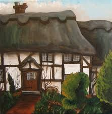 thatched cottage - what no roses round the door?