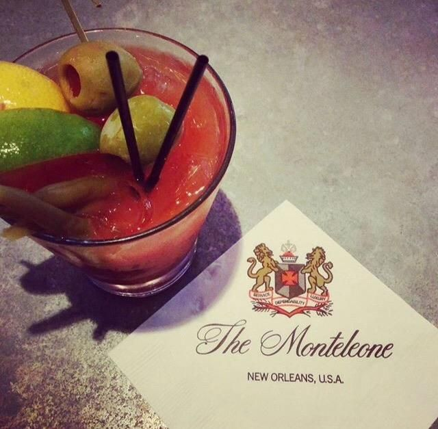 A well-earned Bloody Mary to celebrate another successful Halloween in America's most haunted city. (Photo provided by @thomasle77 via Instagram)