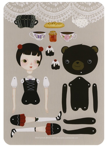 Beautiful Paperdolls by Amy Earles