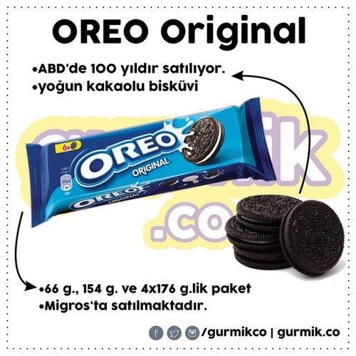 100 yıllık efsane: Oreo. Yoğun kakaolu bisküvisi ve damağa hoş gelen kreması… Tam süte batırmalık. :) Bildiğim kadarıyla sadece #Migros ta satılıyor.