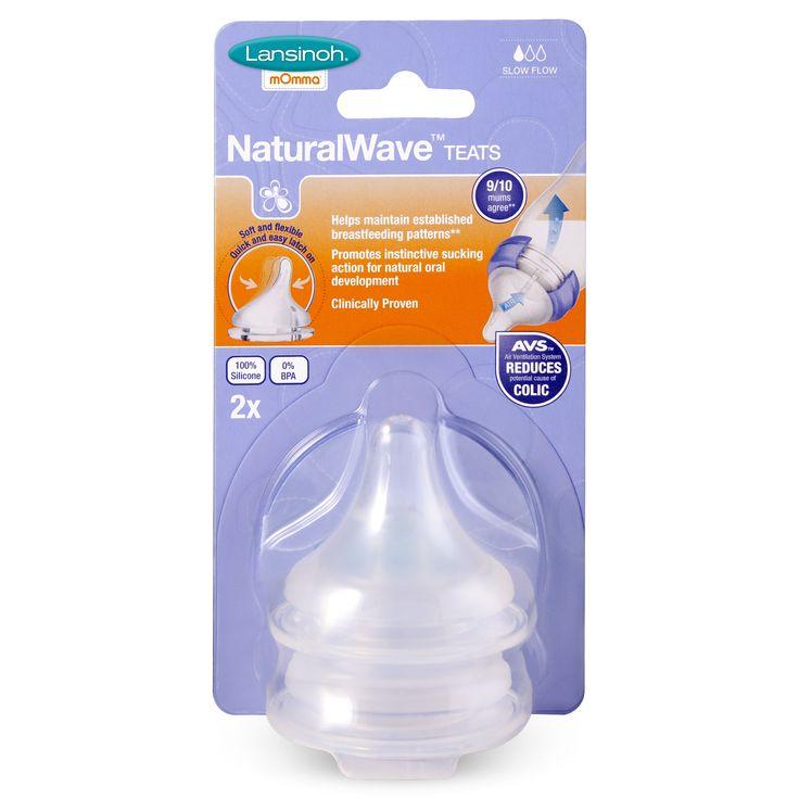 Naturalwave slow flow teat lansinoh lansinoh momma