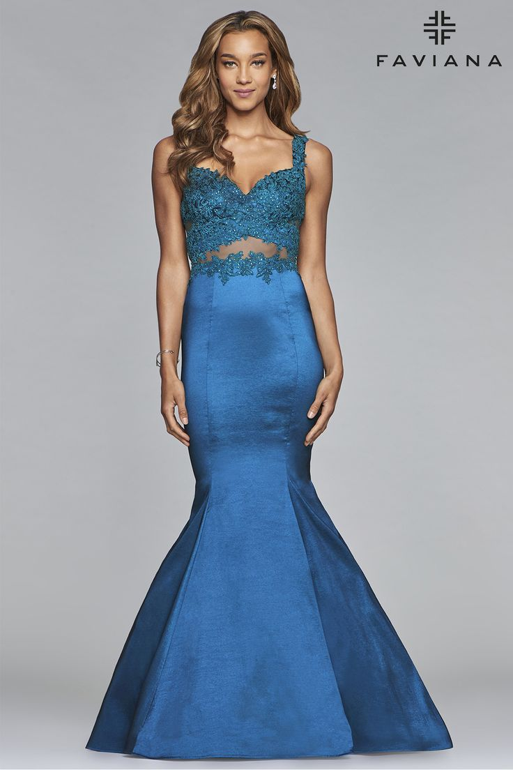 26 best Faviana @ Country Bride images on Pinterest   Designer prom ...