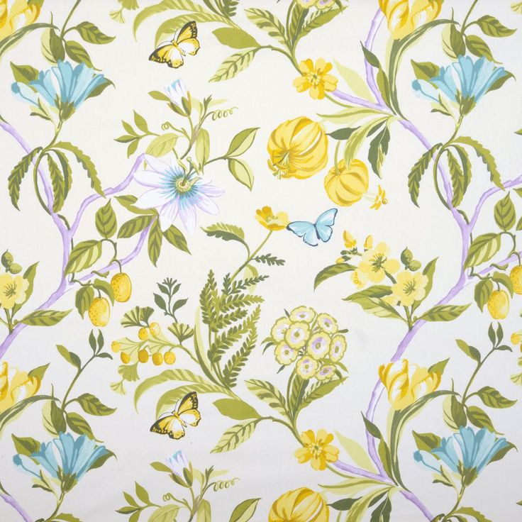 426 best Wallpaper and Fabric, Floral & Botanical: images on ...
