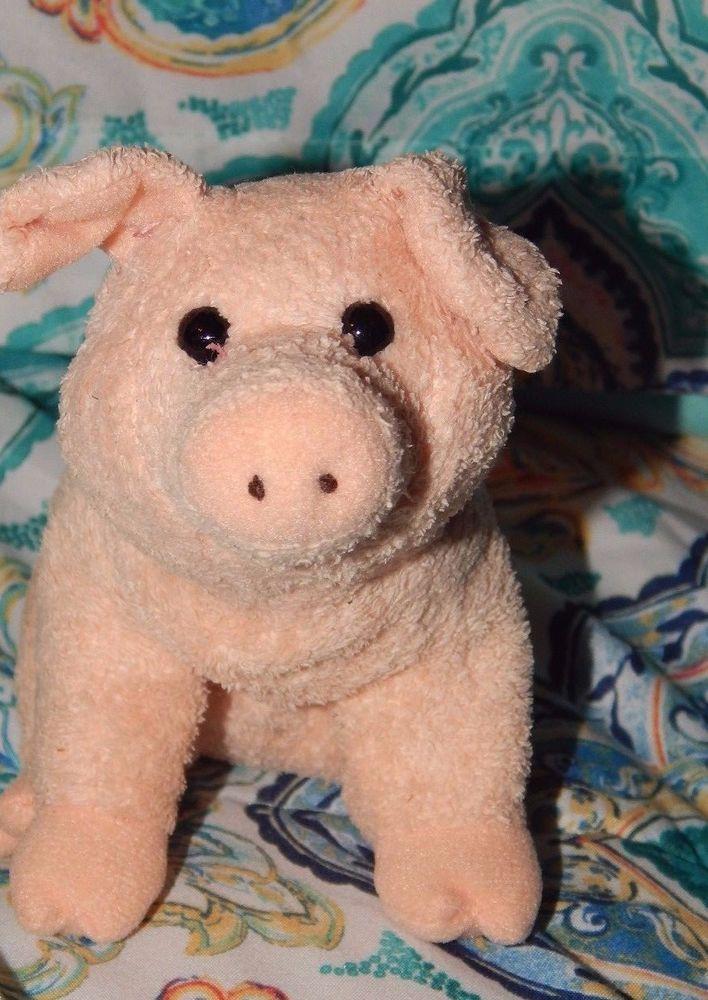Ty Beanie Baby Wilbur Pig Charlotte's Web Movie Plush Stuffed Animal Toy RARE  #Ty #Beanie