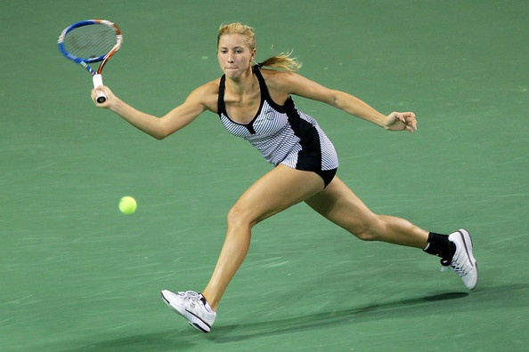 Alona Bondarenko, tennis sensation from #Ukraine