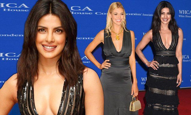 Priyanka Chopra and Kelly Rohrbach sizzle at White House Correspondents' Dinner  | Daily Mail Online