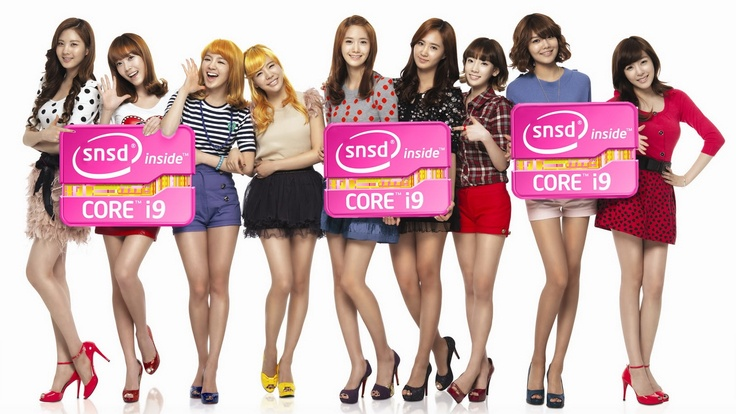 SNSD inside Core i9