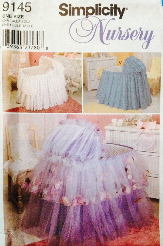 9145 Simplicity Nursery UNCUT Bassinet Covers by Lonestarblondie