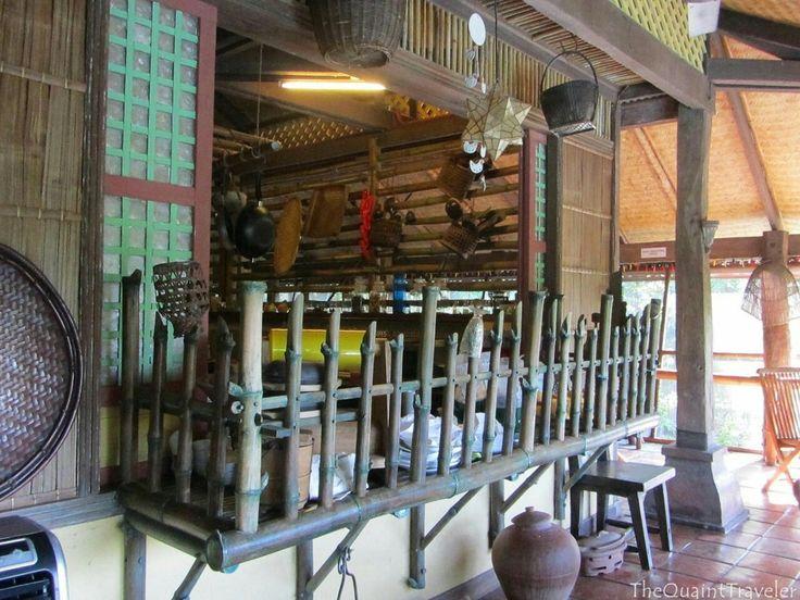 Filipino banggerahan traditional dish drying rack