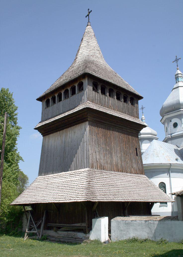 Дзвіниця Троїцької церкви в селі Потелич на Львівщині