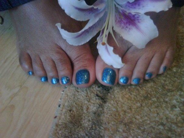 Blu Pedicure