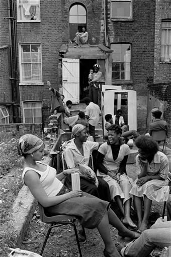 U.K. The Black House, a hostel for troubled black Afro-Caribbean youth in London during the 1970's  // Colin Jones