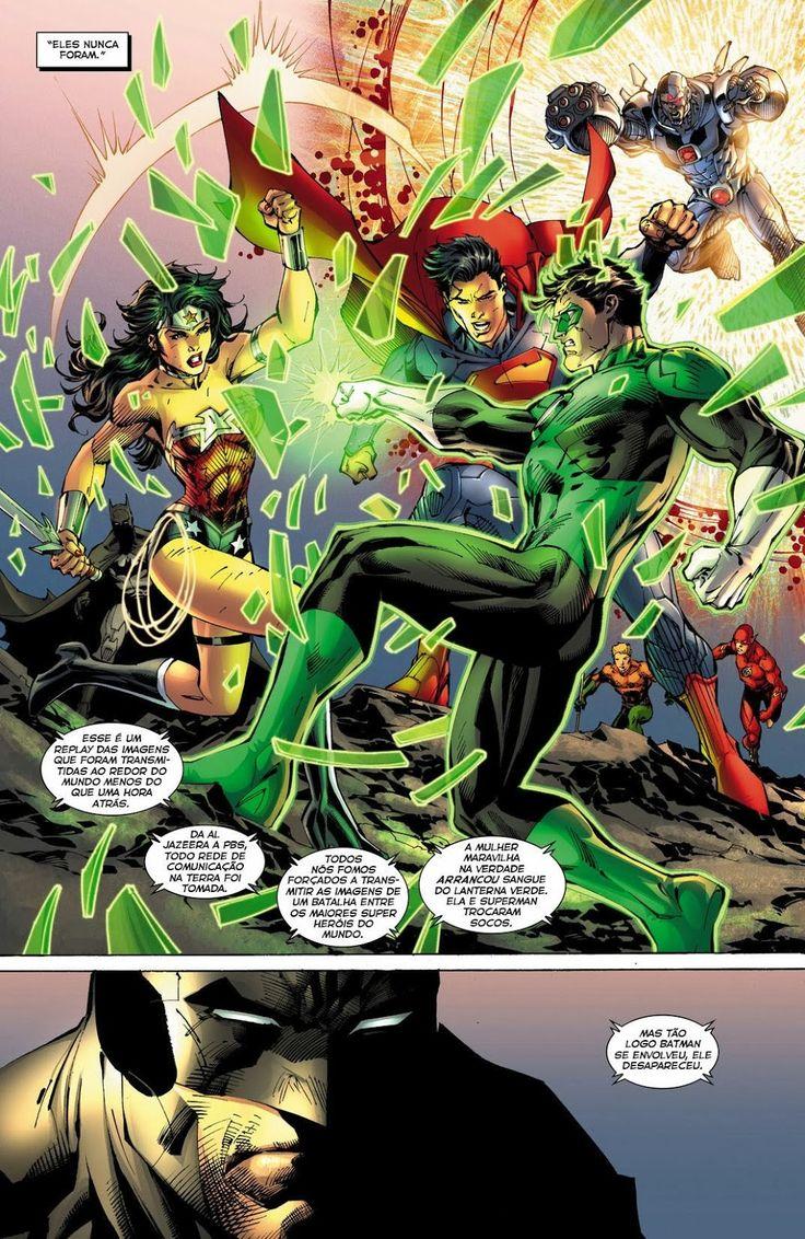 Os Novos 52! Liga da Justiça #12 - Galáxia dos Quadrinhos