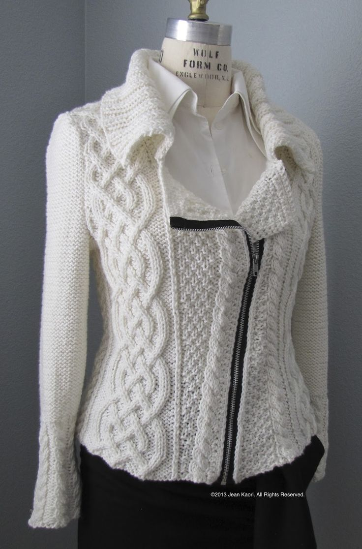 Knitted Jacket Pattern : Best 20+ Knitted coat pattern ideas on Pinterest Knitted coat, Knit jacket ...