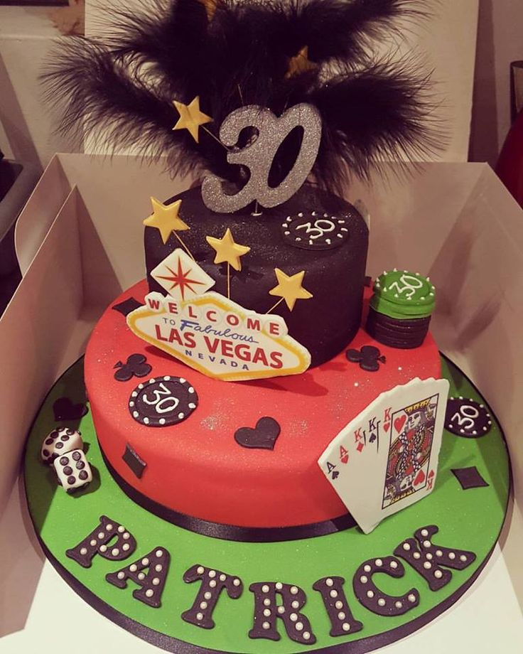 40 Best Images About Vegas Themed Cakes On Pinterest