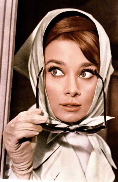 Our beloved Audrey Hepburn in Charade (1963)