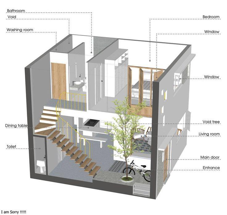 The 29 best 7 x 7 House | IZ Architects | Vietnam images on ...