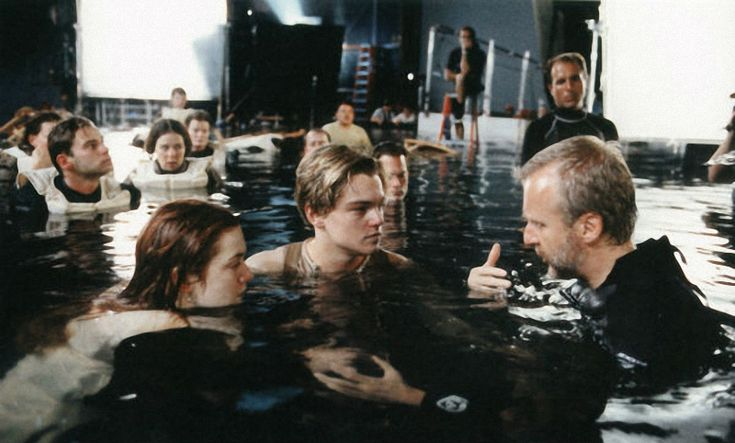 Filming of the Titanic! <3