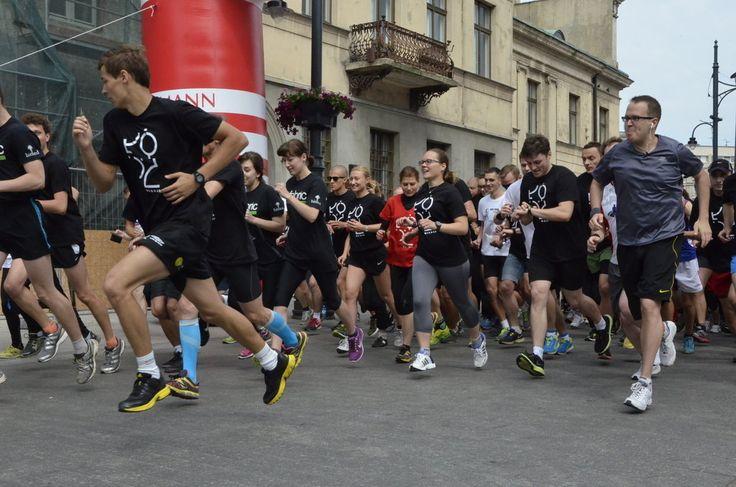 Łódź Business Run 6.09.2015 - Biznesowy bieg charytatywny w formie sztafety, który rozpoczyna się jednocześnie w różnych miastach Polski. #sportowelodzkie