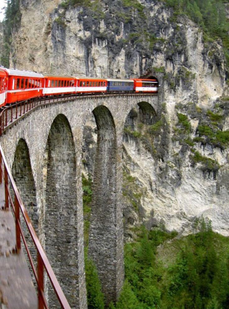 Glacier Express Train (Switzerland)