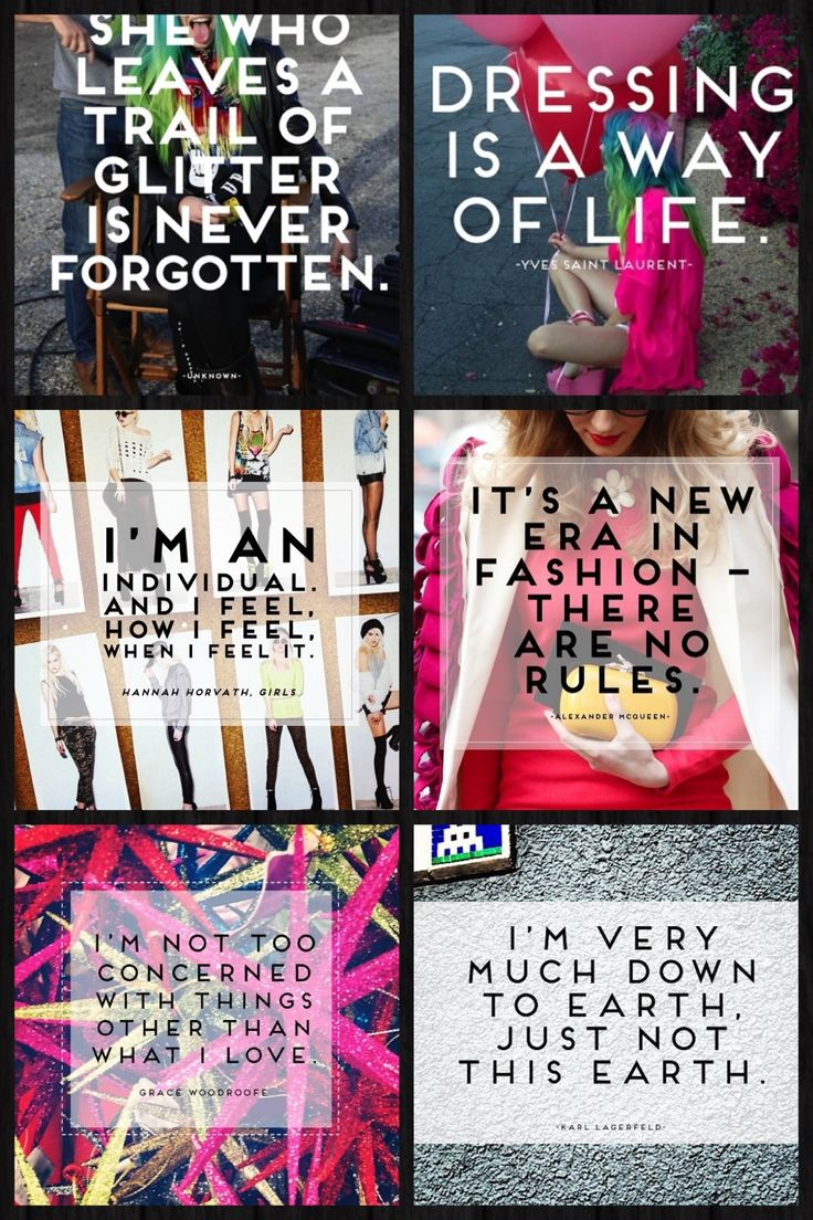 Forever 21 Quotes Collage