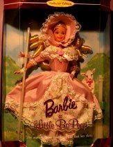 Collectible Barbie doll -- Little Bo Peep.  Still in box.  Never out of box.  Sells on http://barbspencerdolls.com .