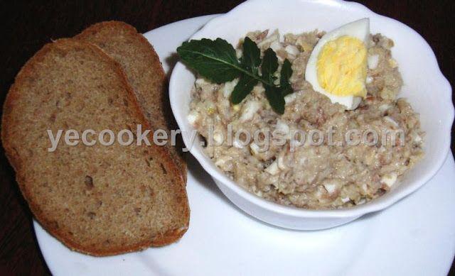 Выпечка и кулинария - рецепты с фото: Форшмак по-еврейски