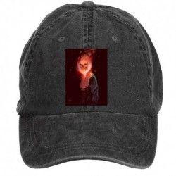 BlackGhost Rider Portrait Men's Sun Hats