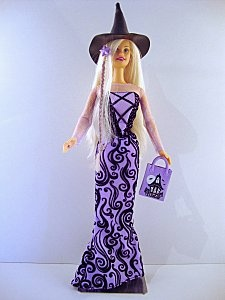 2002 Halloween Glow Barbie