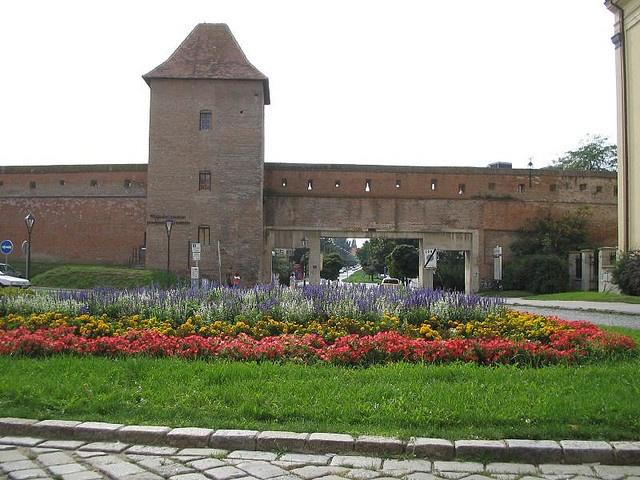 Ancient wall around Trnava, Slovakia