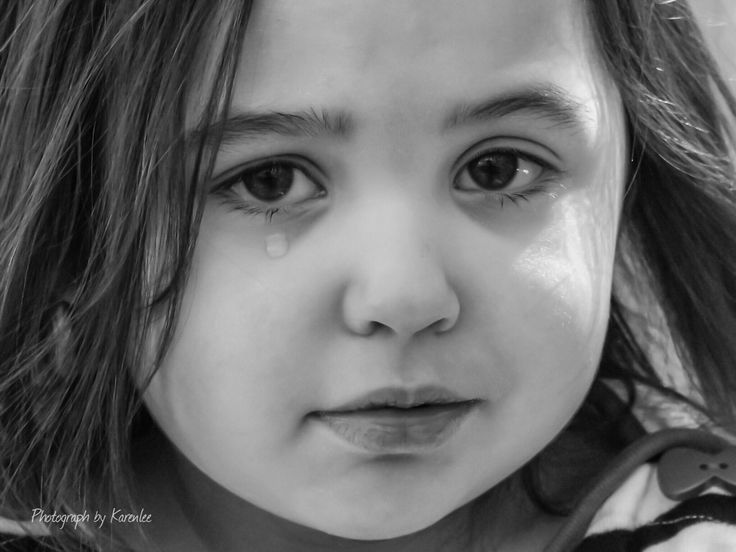 Poor cry baby not everything is black and white