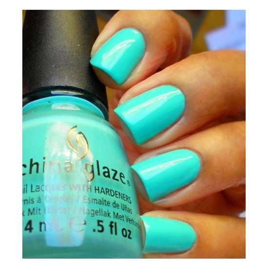 China Glaze Nail Polish - Aquadelic...i dont think ive ever been in love more with a nail polish color