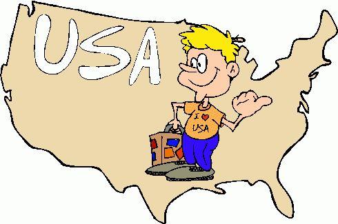Usa Map Clipart - Clipart Kid