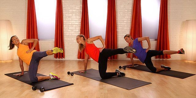 Pilates Workout for Beginners Slideshow: Pilates Exercises, Flat Abs, Muscle Toning