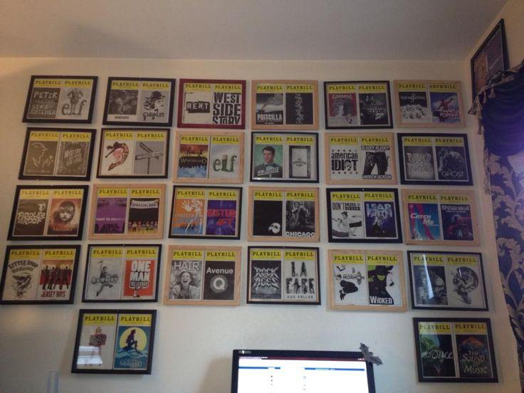 Mr. Ferriero's Broadway BLOG: Display Your Playbills