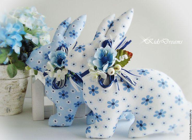 Купить Зайчики пасхальные - зеленый, ярко-зелёный, сувенир, подарок, пасхальный сувенир, Пасха, кролик