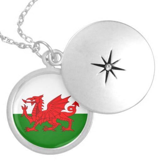 Wales flag pendant - a great reminder of a special tour to Wales