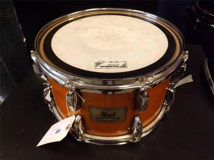 used pearl 8 ply maple soprano snare drum liquid amber 12x7 inches pearl for sale at rock on. Black Bedroom Furniture Sets. Home Design Ideas