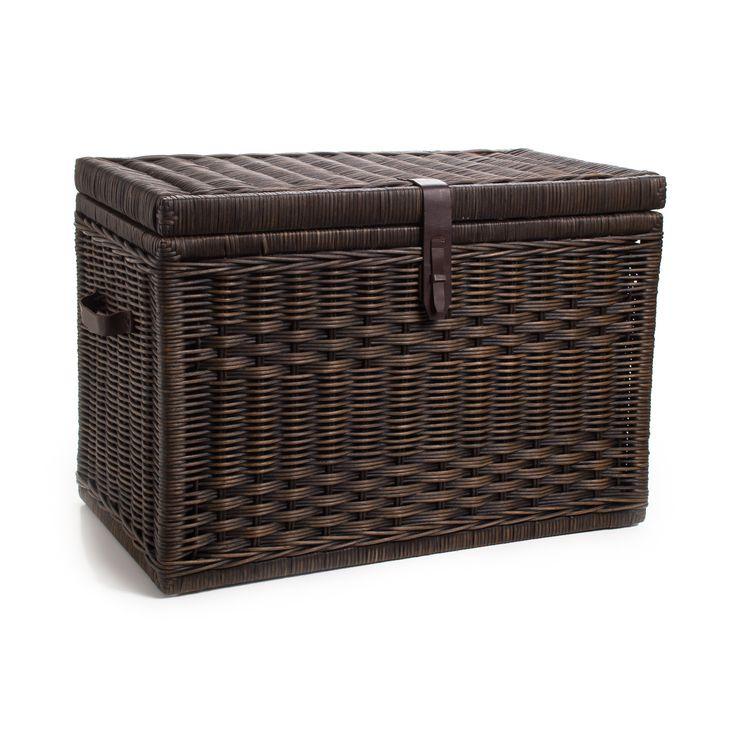 The Basket Lady Wicker Storage Trunk
