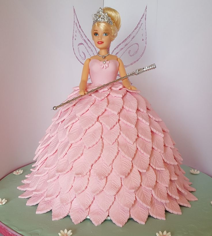 Pink Tinkerbell Princess Cake I made for a client
