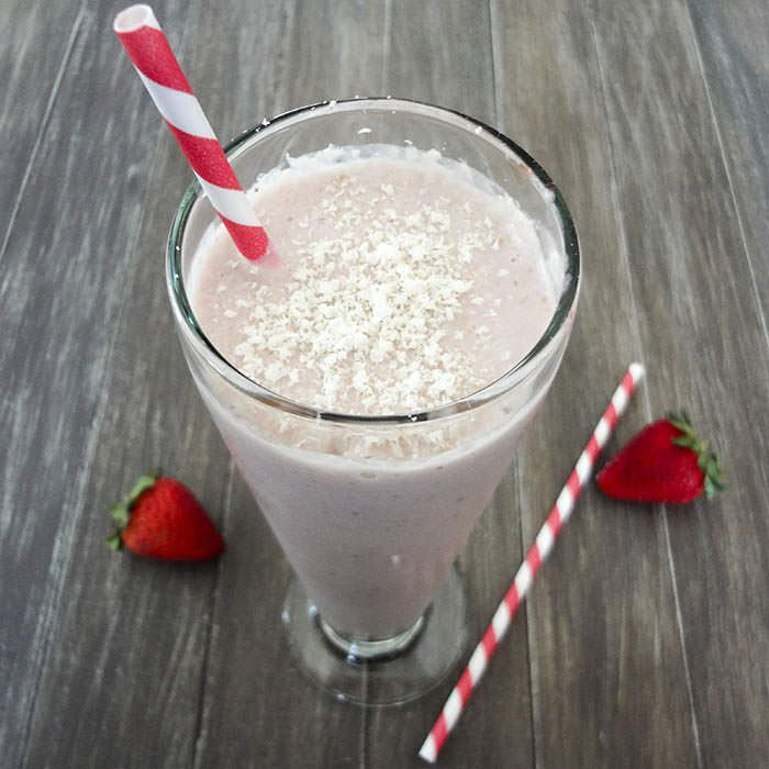 one ingredient strawberry milkshake strawberry milkshake recipes ...