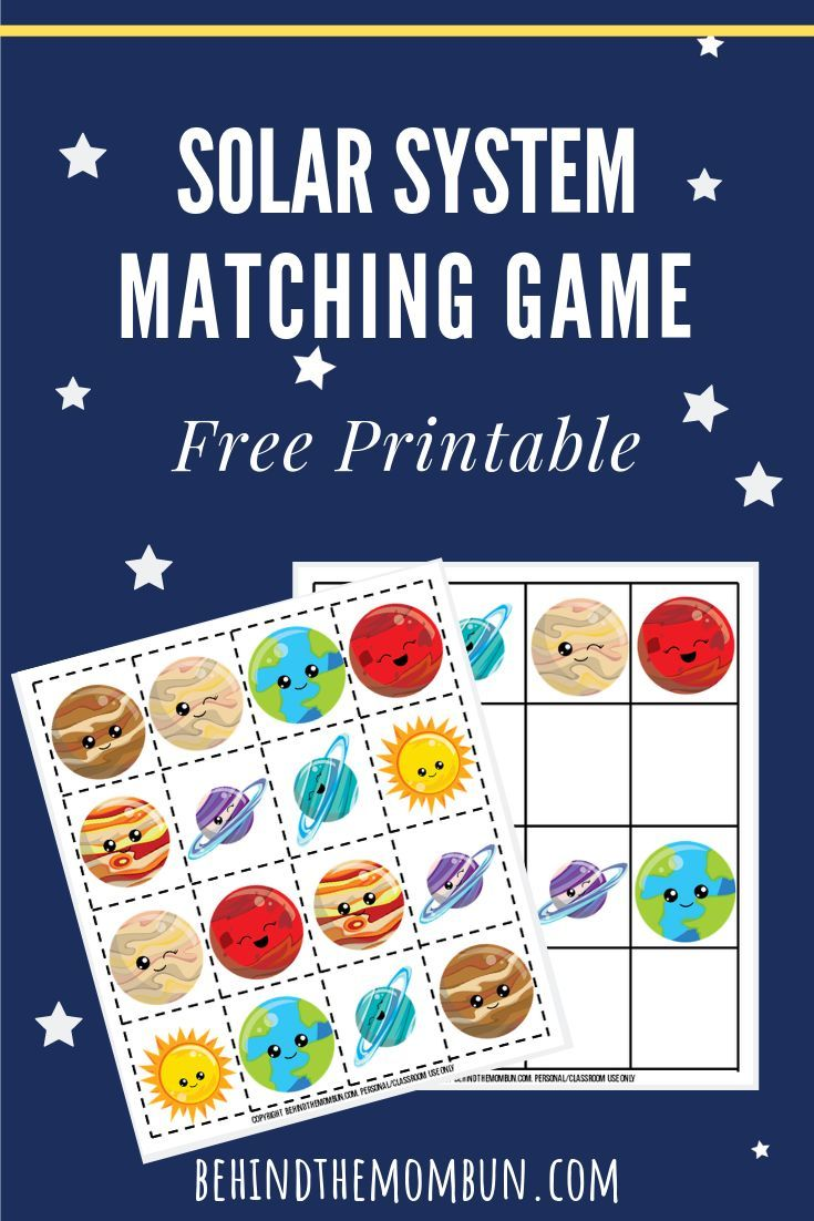 Matching Games For Kids Solar System Science For Kids Science Activities For Kids Solar System Projects For Kids [ 1102 x 735 Pixel ]