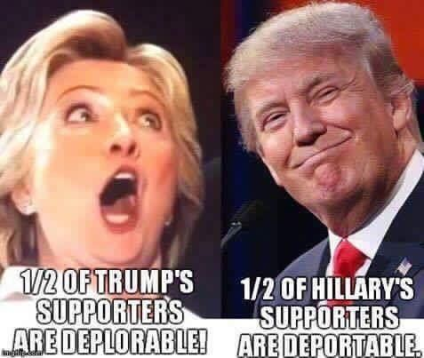 Love this!! So funny, yet so true!! Don't forget that some of her supporters could possibly no longer able to vote- I heard that they recruit from beyond the grave!! LOL!!
